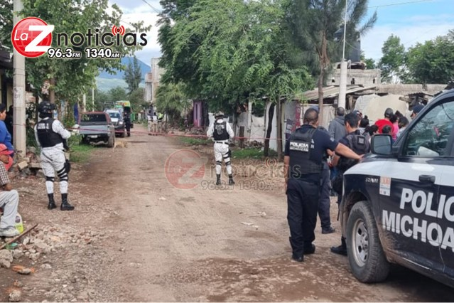 Velador es asesinado a balazos en la colonia Ferrocarril de Zamora