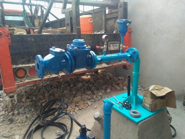 Equipan pozo en Tuxpan, para eficientar abasto de agua potable