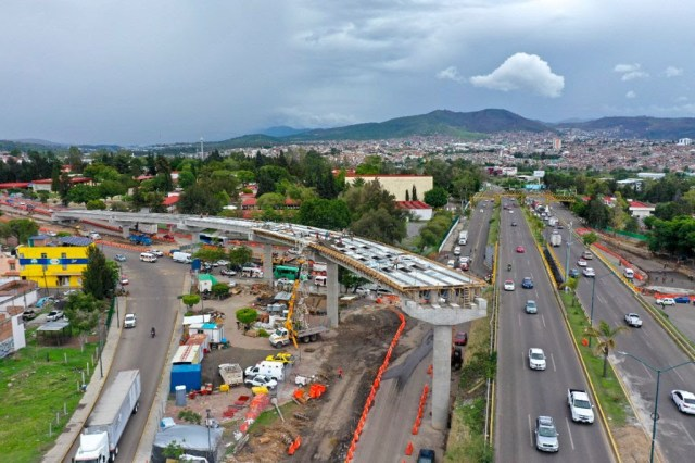 Prevé Gobierno de Michoacán conclusión anticipada del distribuidor vial «Tecnológico»
