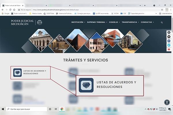 Juzgados y salas del Poder Judicial de Michoacán publicaron 460,213 acuerdos y resoluciones en el primer semestre de 2021