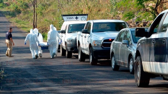 Encuentran cadáver baleado en Atécuaro