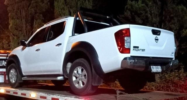 Asegura SSP a uno en posesión de un vehículo con reporte de robo