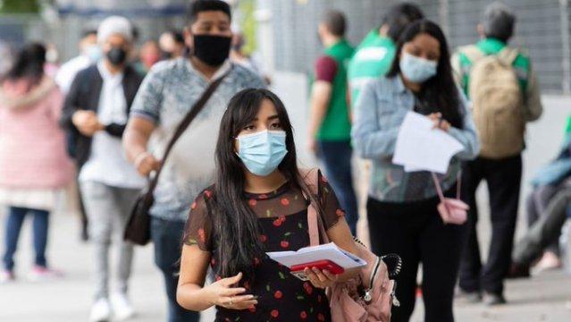 México suma 986 muertes por COVID-19, el pico más alto de la tercera ola