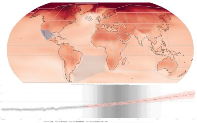 Se prevé aumento de temperatura, más sequías y ciclones más fuertes por cambio climático en México