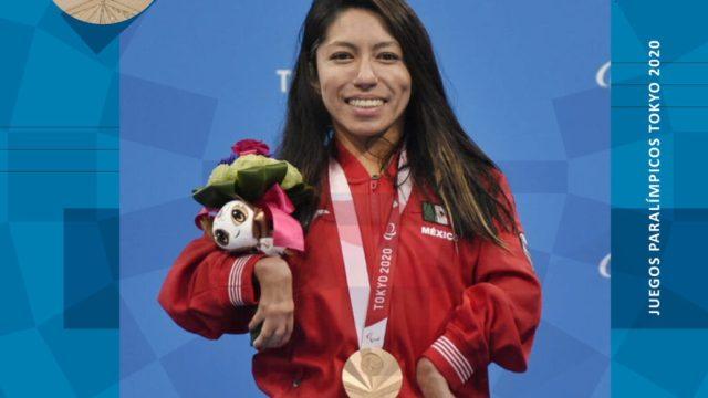 Fabiola Ramírez gana la primera medalla para México en Paralímpicos