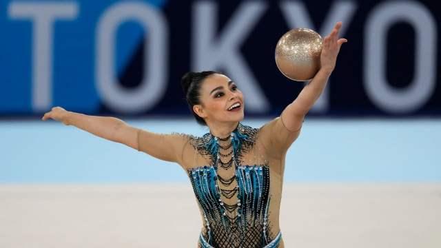 Ruth Castillo hace historia al ser la primera mexicana en gimnasia rítmica en unos Juegos Olímpicos