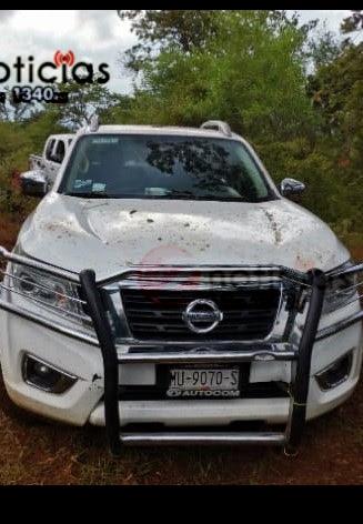 Localizan narcocampamento en Tangamandapio, se aseguró a una persona y tres vehículos