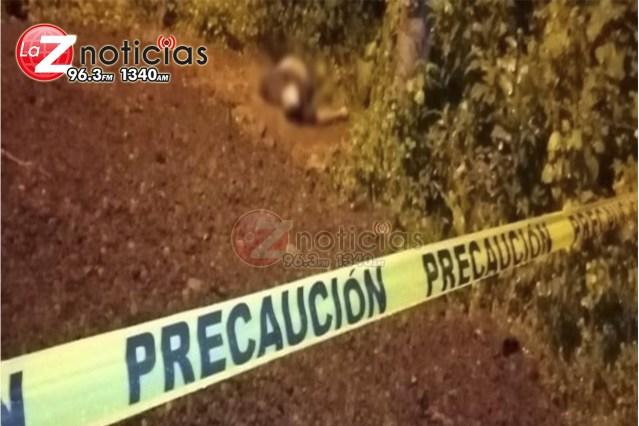 Hallan un ejecutado en brecha de Tangamandapio