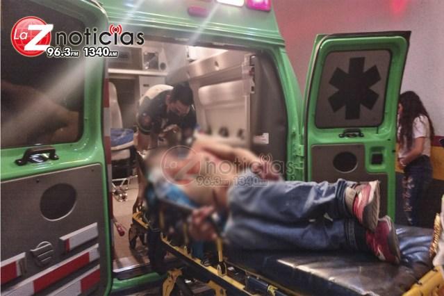 Hombre es baleado en las calles del Infonavit Arboledas Tercera Sección