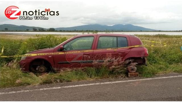 En patrullajes de vigilancia, localiza SSP vehículo con reporte de robo