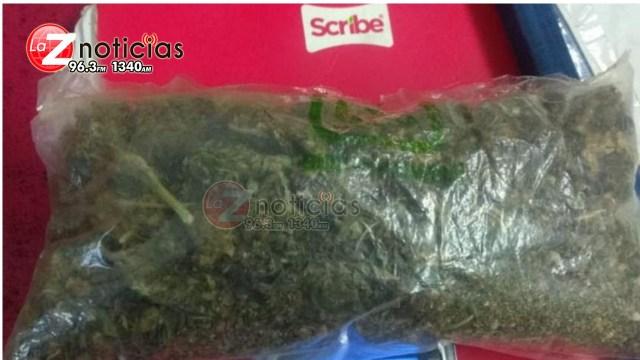Detiene SSP a uno en posesión de marihuana, en Morelia