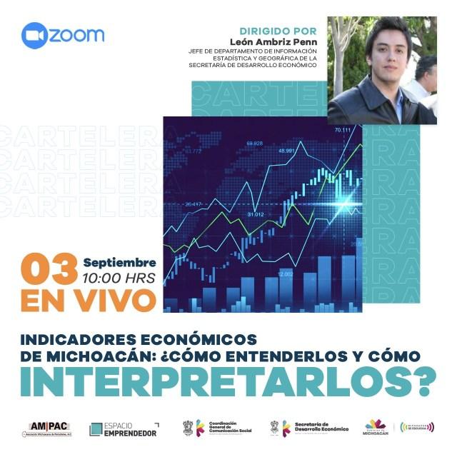 Cómo entender e interpretar los indicadores económicos, tema de capacitación para comunicadores