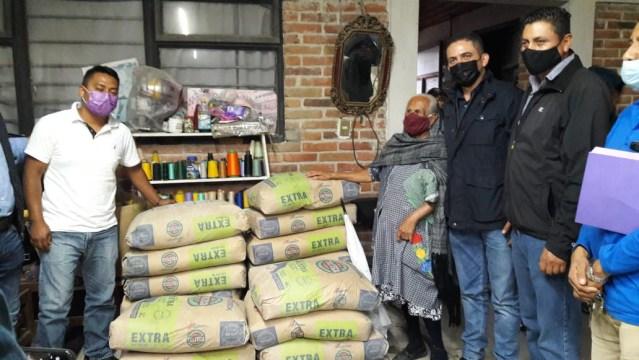 Sedesoh apoya gestión para construcción de plaza en comunidad de Charo