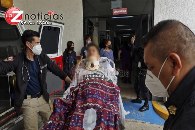 Joven campesino es agredido a tiros en predio de Tangancícuaro