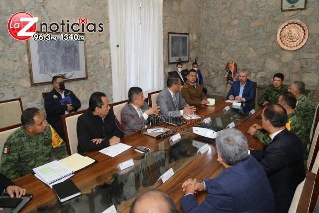 Colaboración y coordinación para garantizar seguridad en Michoacán, compromete Adrián López Solís