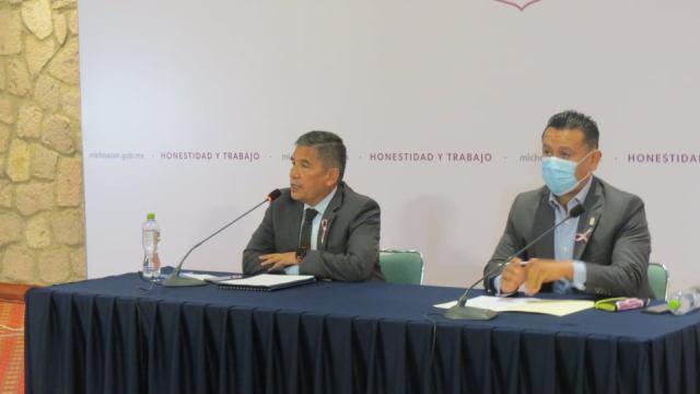 SSP trabaja en restablecimiento de del orden en el Oriente de Michoacán: Alfredo Ortega Reyes