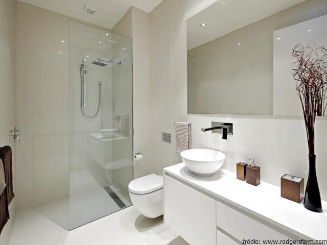 Funkcjonalna łazienka W Bloku