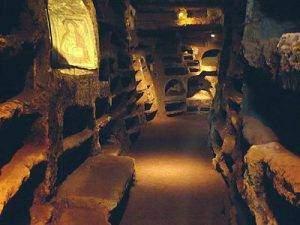 catacomba santa savinilla