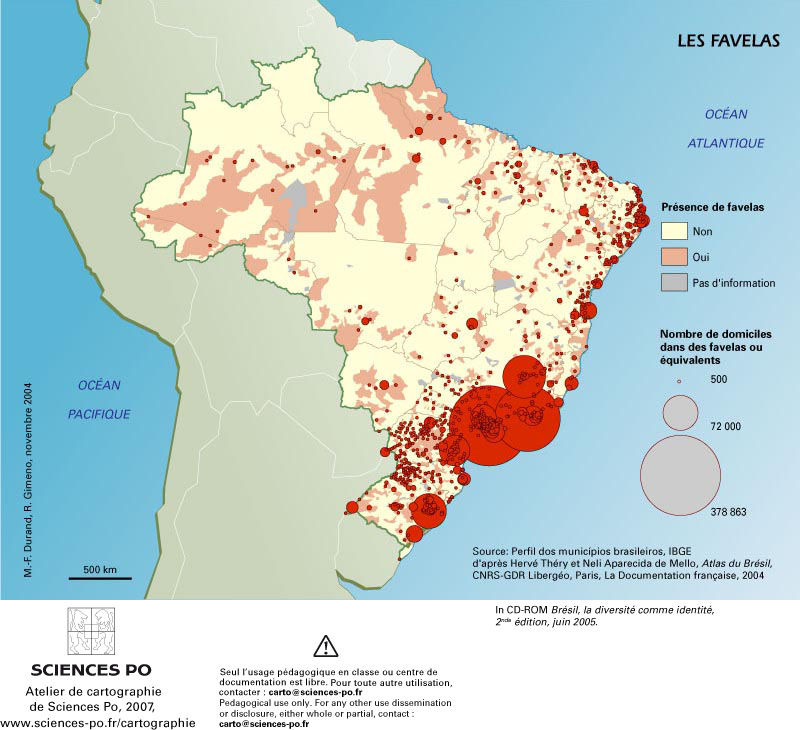Favelas Bresil Carte.Carte Bresil Favelas Laziqacaz