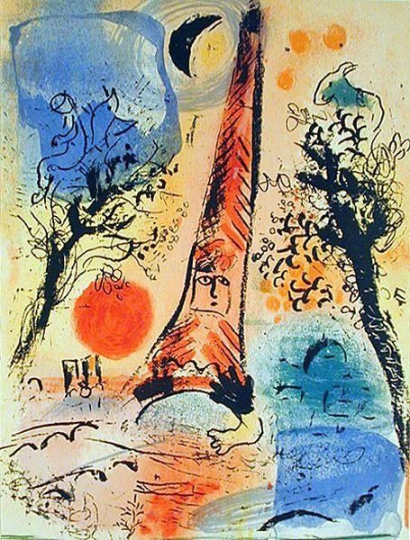 Chagall_Vision de Paris_1960