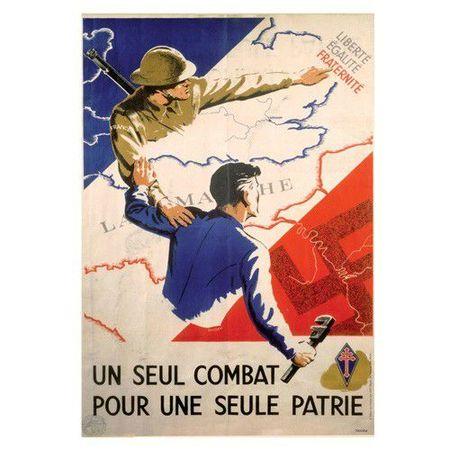 résistance affiche