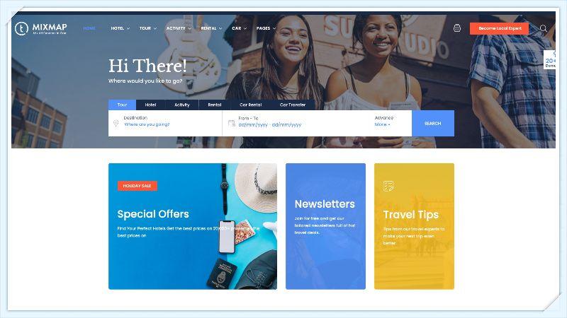 Travel-Booking-WordPress-Theme