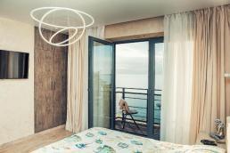 Lazurniy Bereg Holiday Villas And Vacation Rentals Bedroom with Terrace