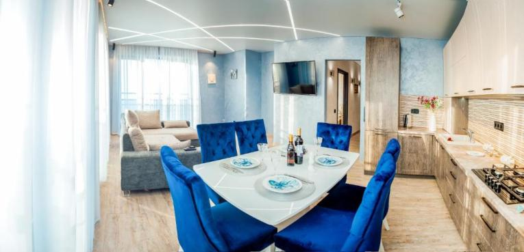Lazurniy Bereg Holiday Villas And Vacation Rentals Living Area