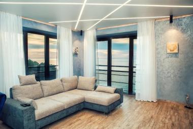 Lazurniy Bereg Holiday Villas And Vacation Rentals Living Room View 01