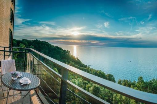 Lazurniy Bereg Holiday Villas And Vacation Rentals View of Baltic Sea
