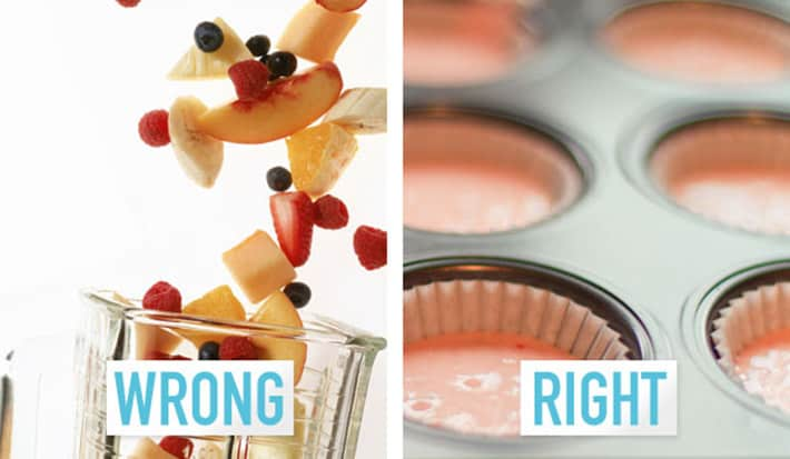 5. Making lazy-girl smoothies
