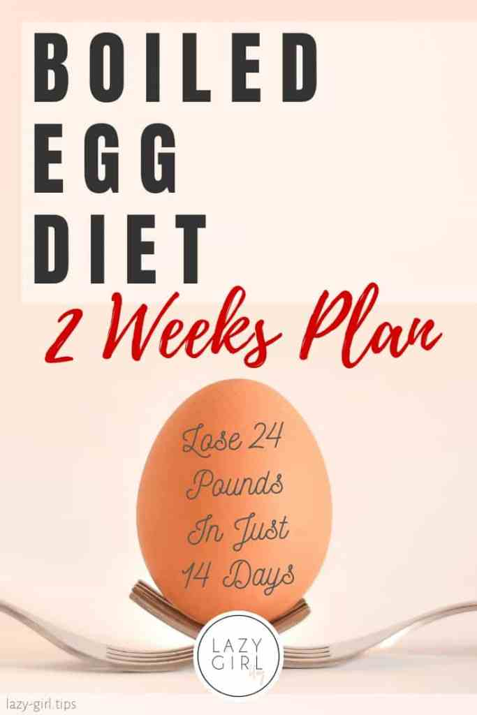 Easy Boiled Egg Diet Plan: Lose 24 Pounds in 2 Weeks