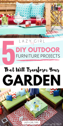 5 DIY Outdoor Furniture Projects That Will Transform Your Gardenn