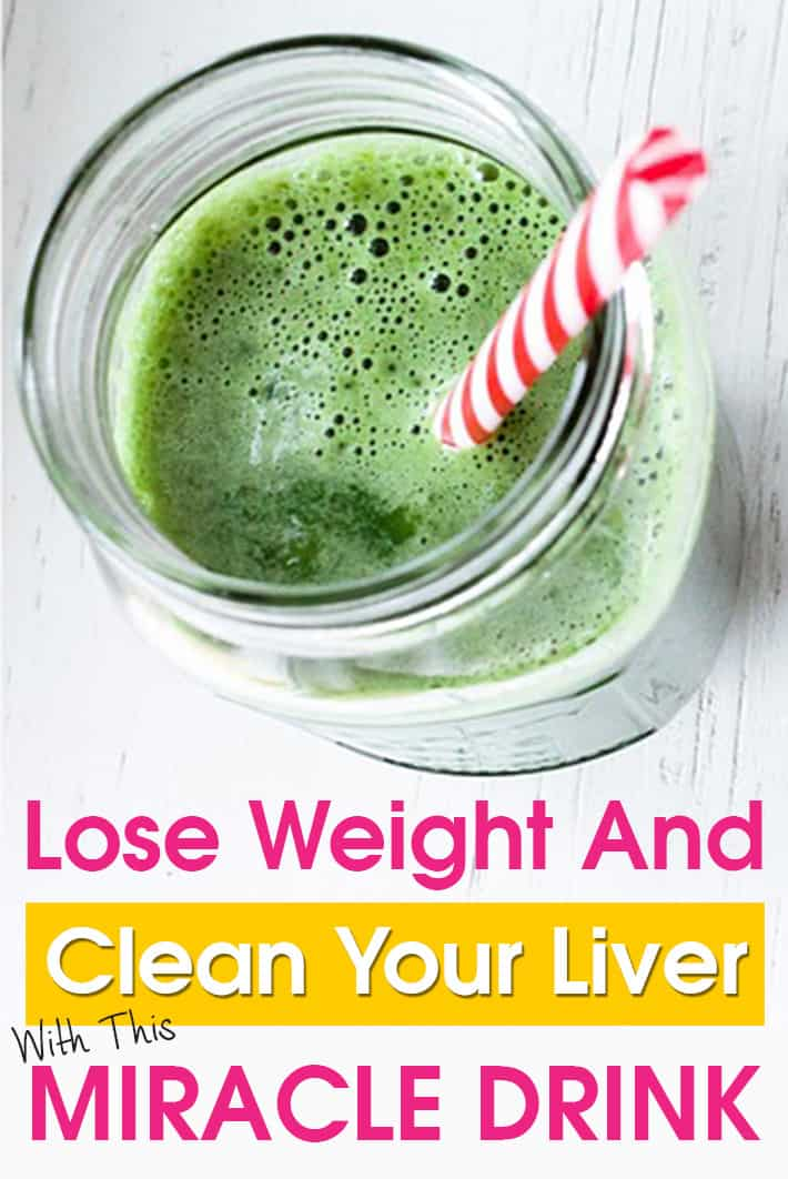 Lose Weight And Clean Your Liver With This Miracle Drink
