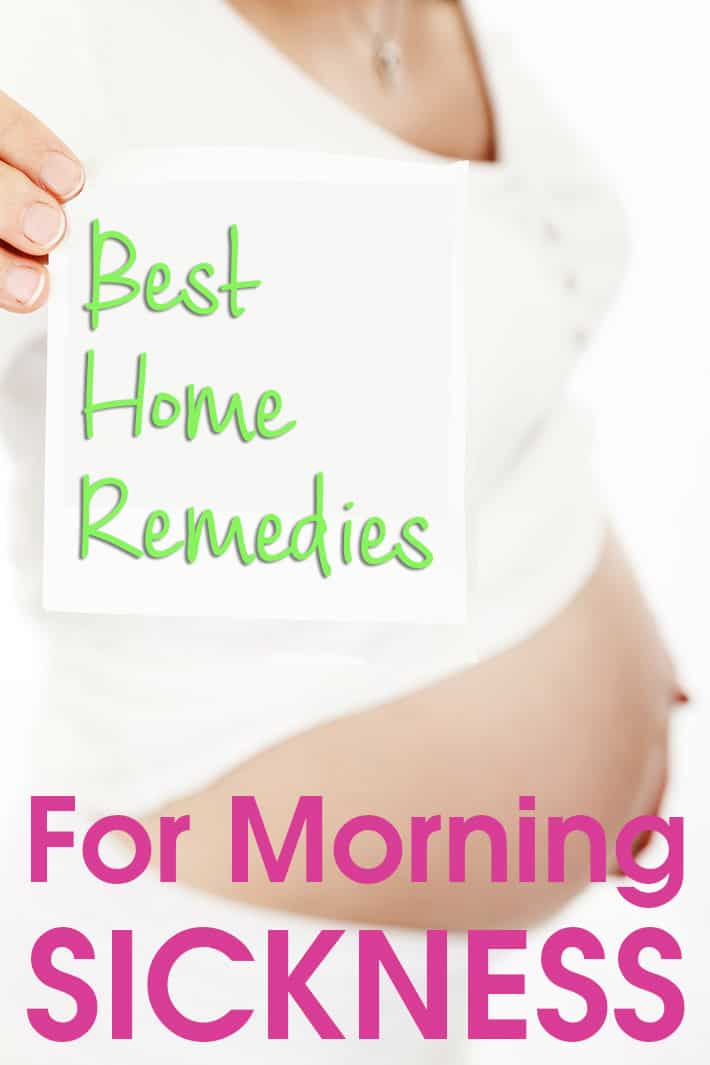 Best Home Remedies For Morning Sickness