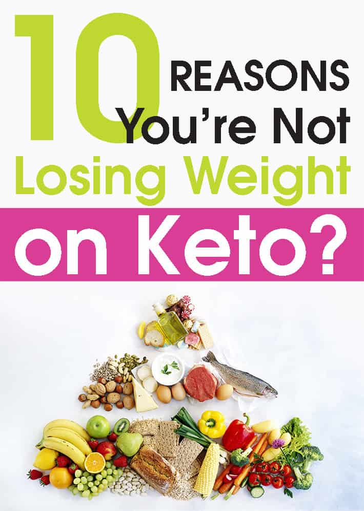 10 Reasons You're Not Losing Weight on Keto