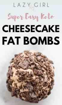 Super Easy Keto fat bombs