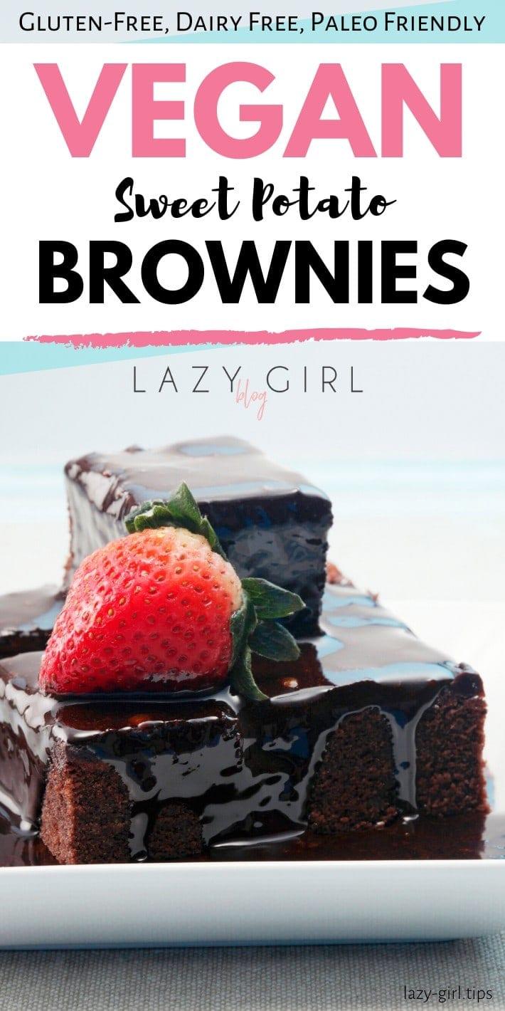 Vegan Sweet Potato Brownies recipe