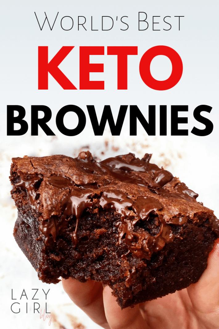 World's Best Keto Brownies recipe.