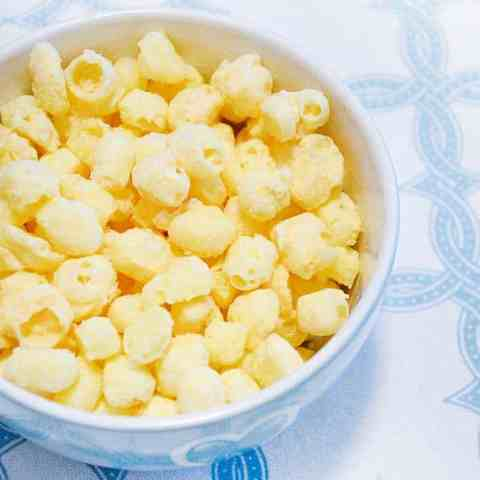 one ingredient low carb popcorn keto chees puffs recipe