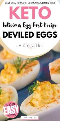 Best Egg Fast Deviled Eggs Recipe