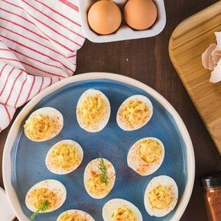 Egg Fast Deviled Eggs