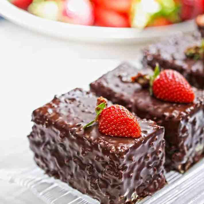 Low Carb Keto Chocolate Bars Recipe