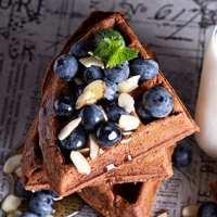 Keto chocolate waffles recipe