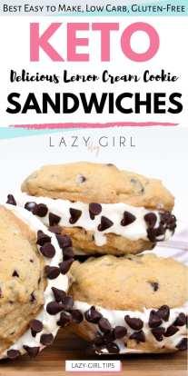 Best Keto Cookie Sandwiches