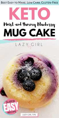 Best Low Carb Keto Mug Cake