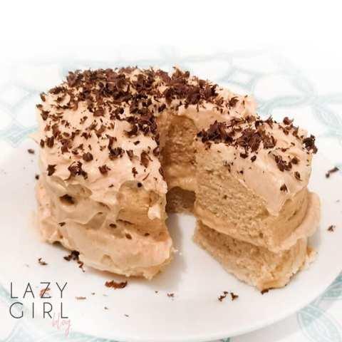 1-Minute Keto Peanut Butter Mug Cake