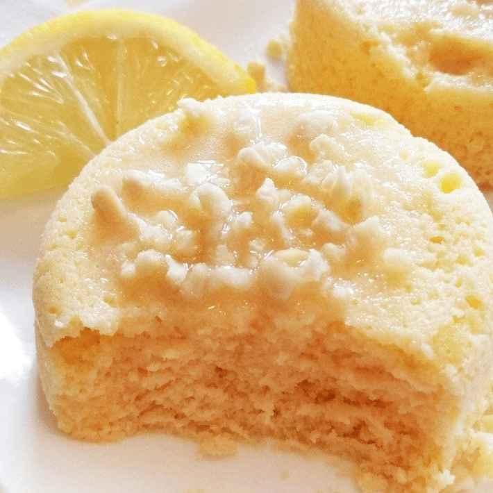 90 seconds keto lemon mug cake recipe