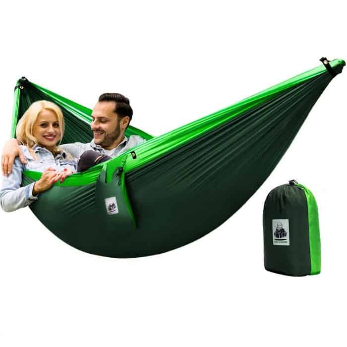 4in1 Double Camping Hammock With Straps for 2 persons