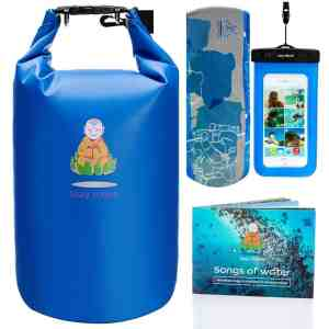 Dry Bag Waterproof Bags Large Food Backpack Sack Blue